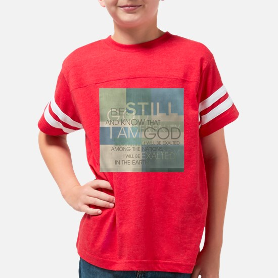 Psalm Scripture Collage Youth Football Shirt