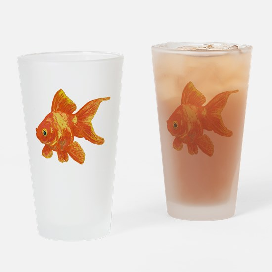 Goldfish Drinking Glass