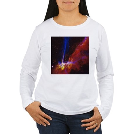 Supernova Remnants Women's Long Sleeve T-Shirt