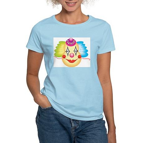 Clown Women's Pink T-Shirt