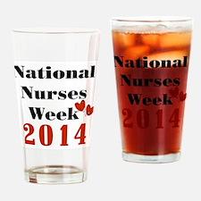 National Nurses Week 2014 Drinking Glass