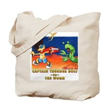 The Worm - water color Tote Bag