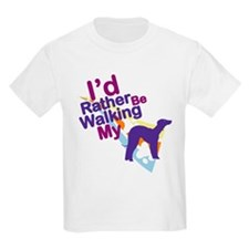 Bedlington Terrier Kids T-Shirt