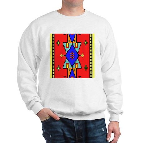 Lakota Dreams Blanket Pattern Sweatshirt