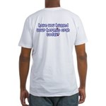 Have you hugged your hermit c Fitted T-Shirt