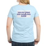 Have you hugged your hermit c Women's Pink T-Shirt