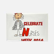 Celebrate Nurses Week 2014 Rectangle Magnet