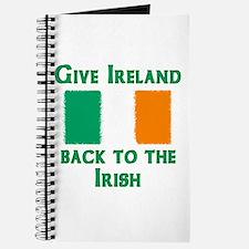 Give Ireland Back Journal