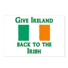 Give Ireland Back Postcards (Package of 8)