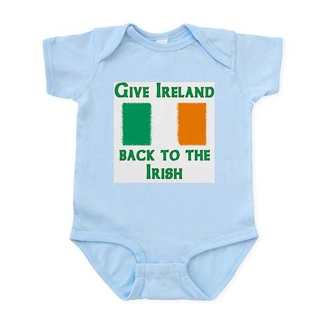 Give Ireland Back Infant Bodysuit