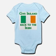 Give Ireland Back Infant Bodysuit