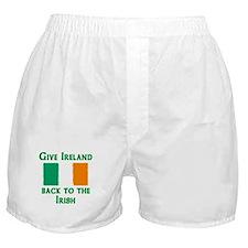 Give Ireland Back Boxer Shorts