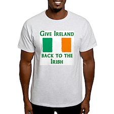 Give Ireland Back Ash Grey T-Shirt