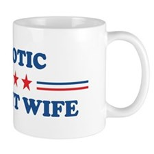 Pregnant Wife: Patriotic Mug