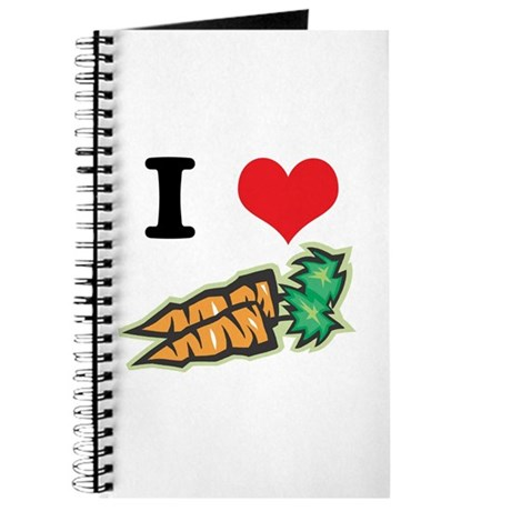 I Heart (Love) Carrots Journal