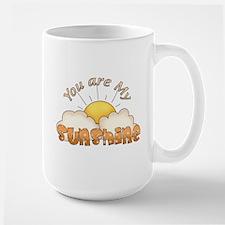 You Are My Sunshine Orange Text Mug