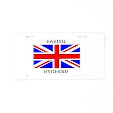 Ealing England Aluminum License Plate
