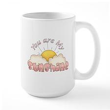 You Are My Sunshine Pink Text Mug