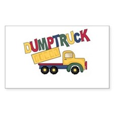 Dumptruck Decal