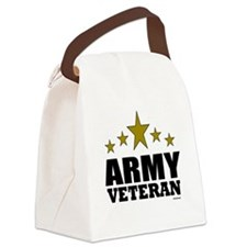 Army Veteran Canvas Lunch Bag