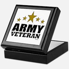 Army Veteran Keepsake Box