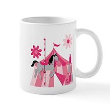 Pink Carnival Carousel Horse Mug