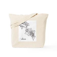 `Akala - Hawaiian Raspberry Tote Bag