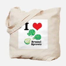 I Heart (Love) Brussel Sprouts Tote Bag