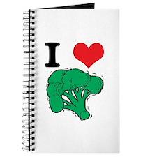 I Love (Heart) Broccoli Journal