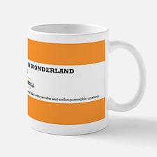 Alice's Adventures in Wonderland Small Mugs
