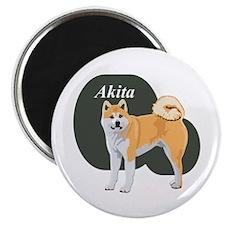 Akita Title Magnet