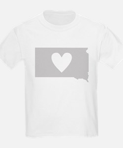 Heart South Dakota T-Shirt