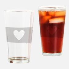 Heart South Dakota Drinking Glass