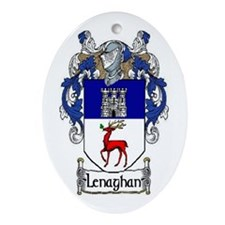 Lenaghan Coat of Arms Oval Ornament