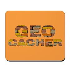 Geocacher Bricks Mousepad