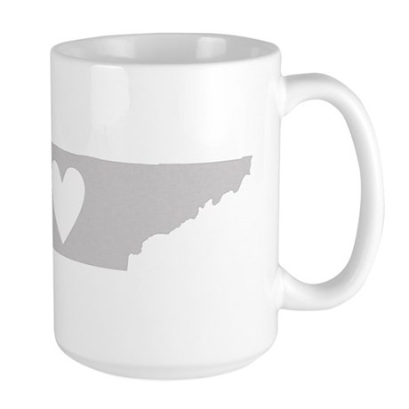 Heart Tennessee Large Mug