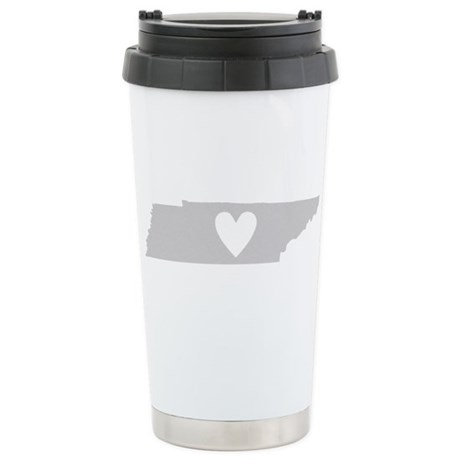Heart Tennessee Stainless Steel Travel Mug