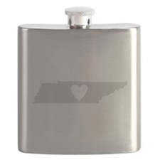 Heart Tennessee Flask