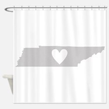 Heart Tennessee Shower Curtain