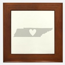 Heart Tennessee Framed Tile
