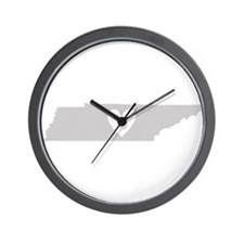 Heart Tennessee Wall Clock