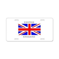 Exeter England Aluminum License Plate