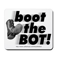 Boot the BOT! Mousepad