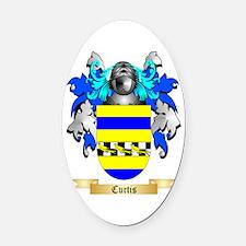 Curtis Oval Car Magnet