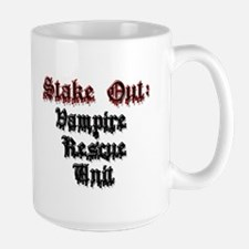Stake Out: Vampire Rescue Unit Mug