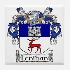 Lenihan Coat of Arms Tile Coaster