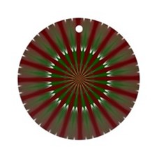 Fractal 8 Ornament (Round)