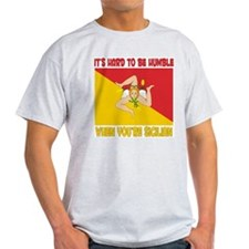 Hard 2 be humble Sicilian Ash Grey T-Shirt