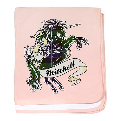 Mitchell Unicorn baby blanket