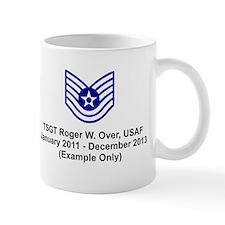Kc-135r Statotanker With Enlisted Rating Mug Mugs